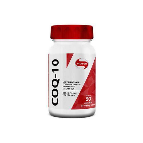 COQ-10 30 capsulas - Coenzima Q 10 Vitafor  - KFit Nutrition