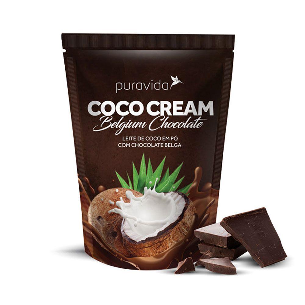 Coco Cream Belgian Chocolate 250g Puravida  - KFit Nutrition