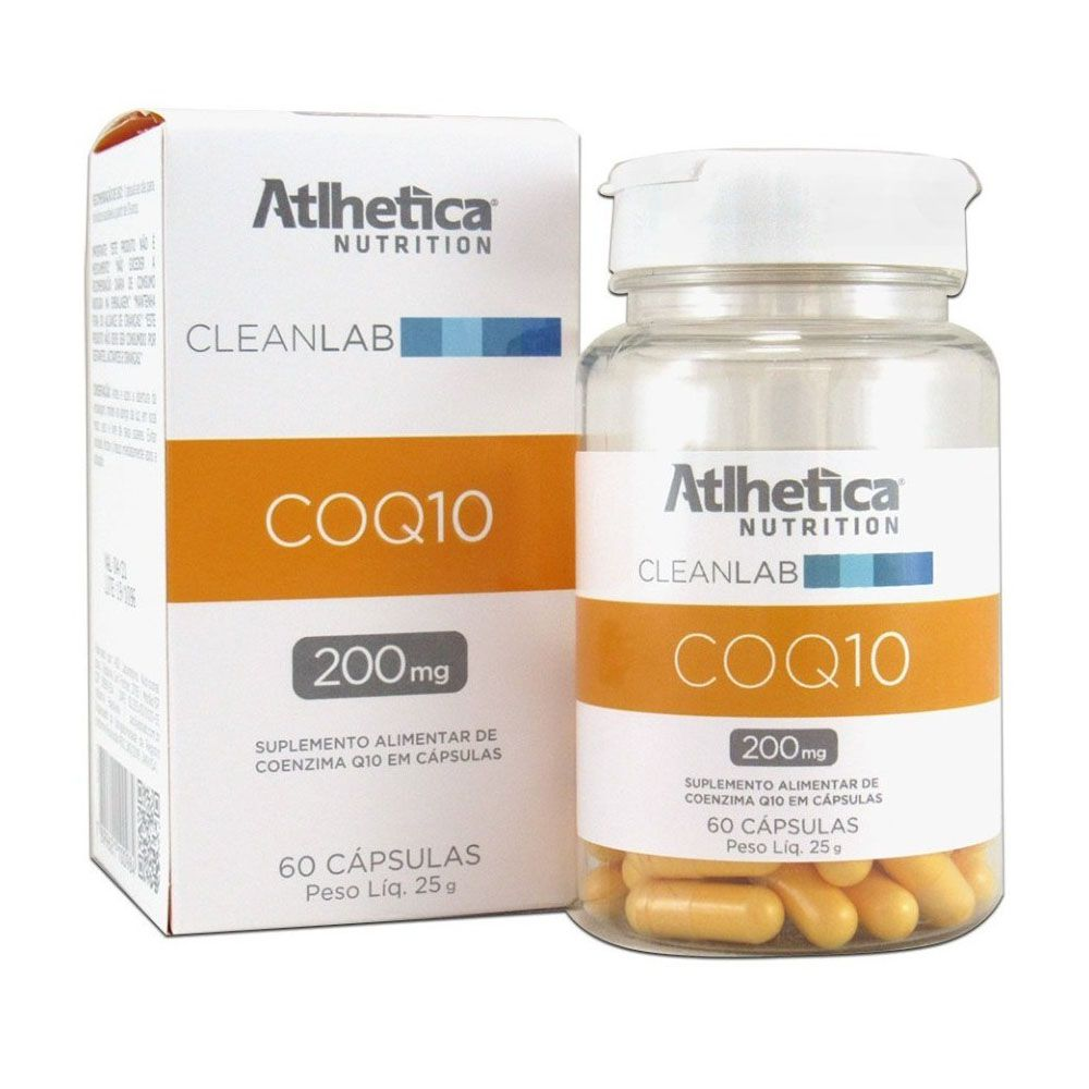 Coenzima Q10 200mg 60 cápsulas Atlhetica Nutrition  - KFit Nutrition