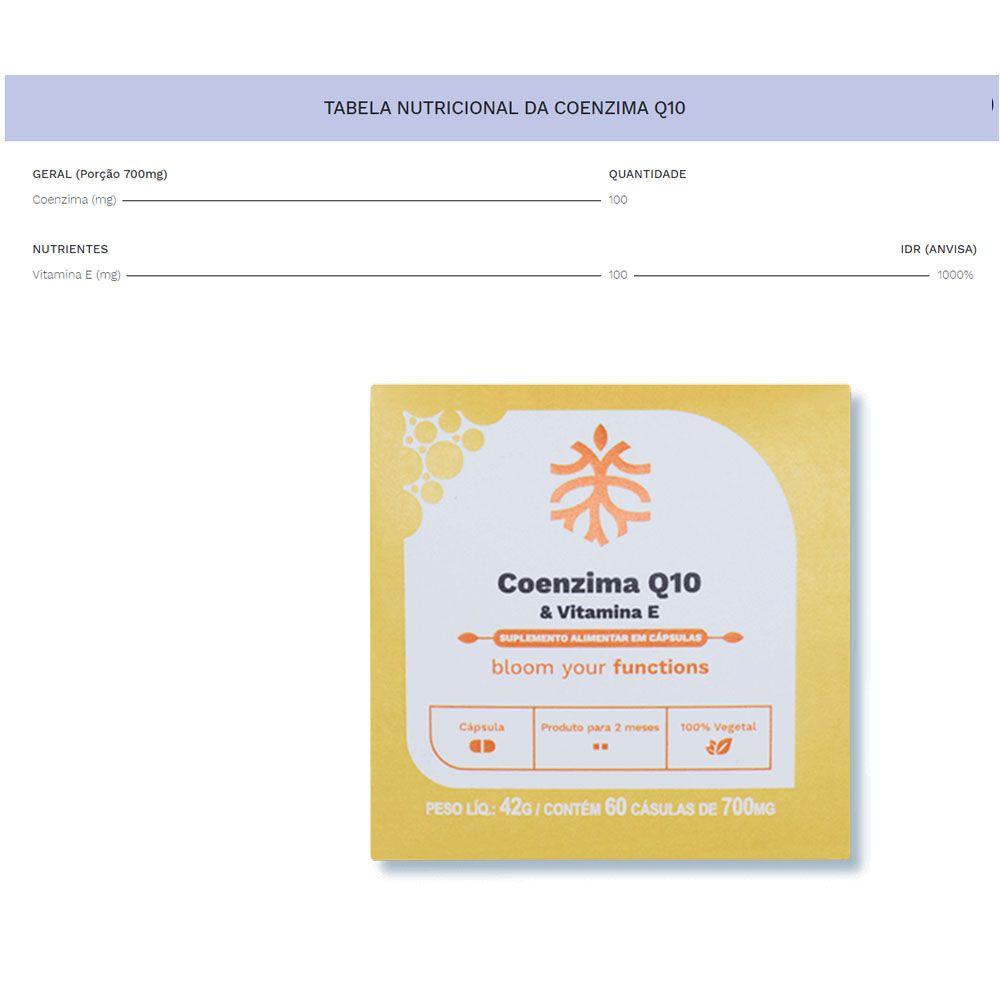Coenzima Q10 E Vitamina E 60 Caps Ocean Drop  - KFit Nutrition