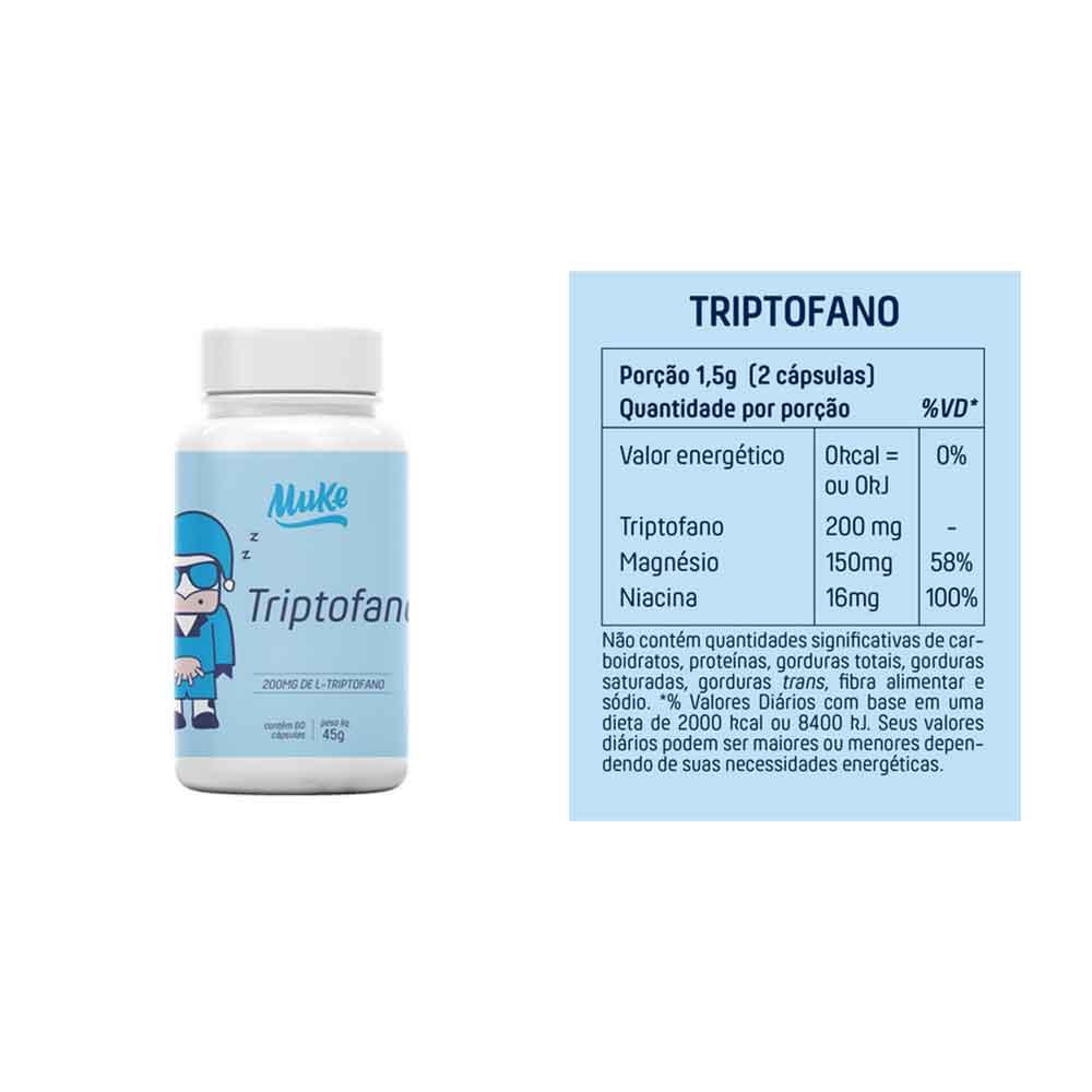 Colágeno 250g - Mais Mu e Hair, Skin, Nails 60 Cáps - Mais Mu e Triptofano 200mg 60 Cáps - Mais Mu  - KFit Nutrition