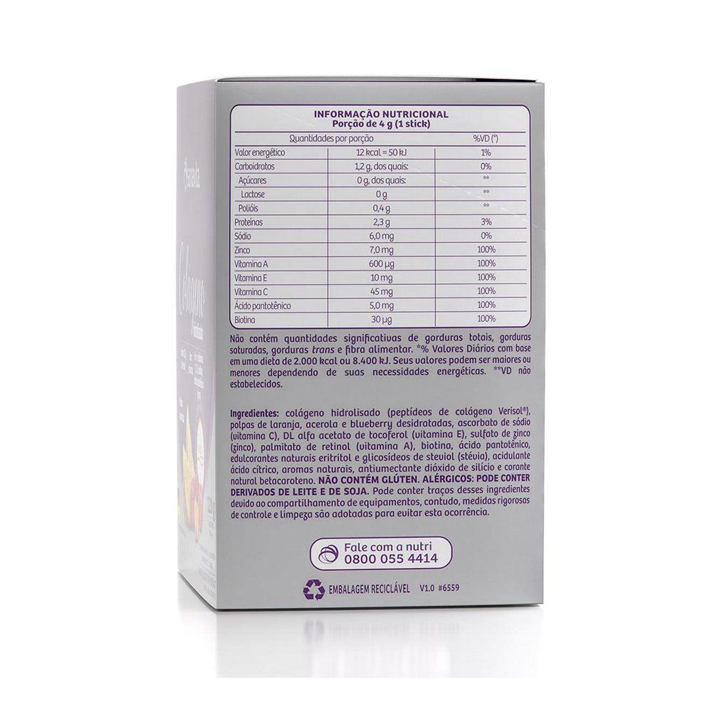 Colágeno Hidrolisado Verisol Frutas Amarelas 30 Sachês - Sanavita  - KFit Nutrition
