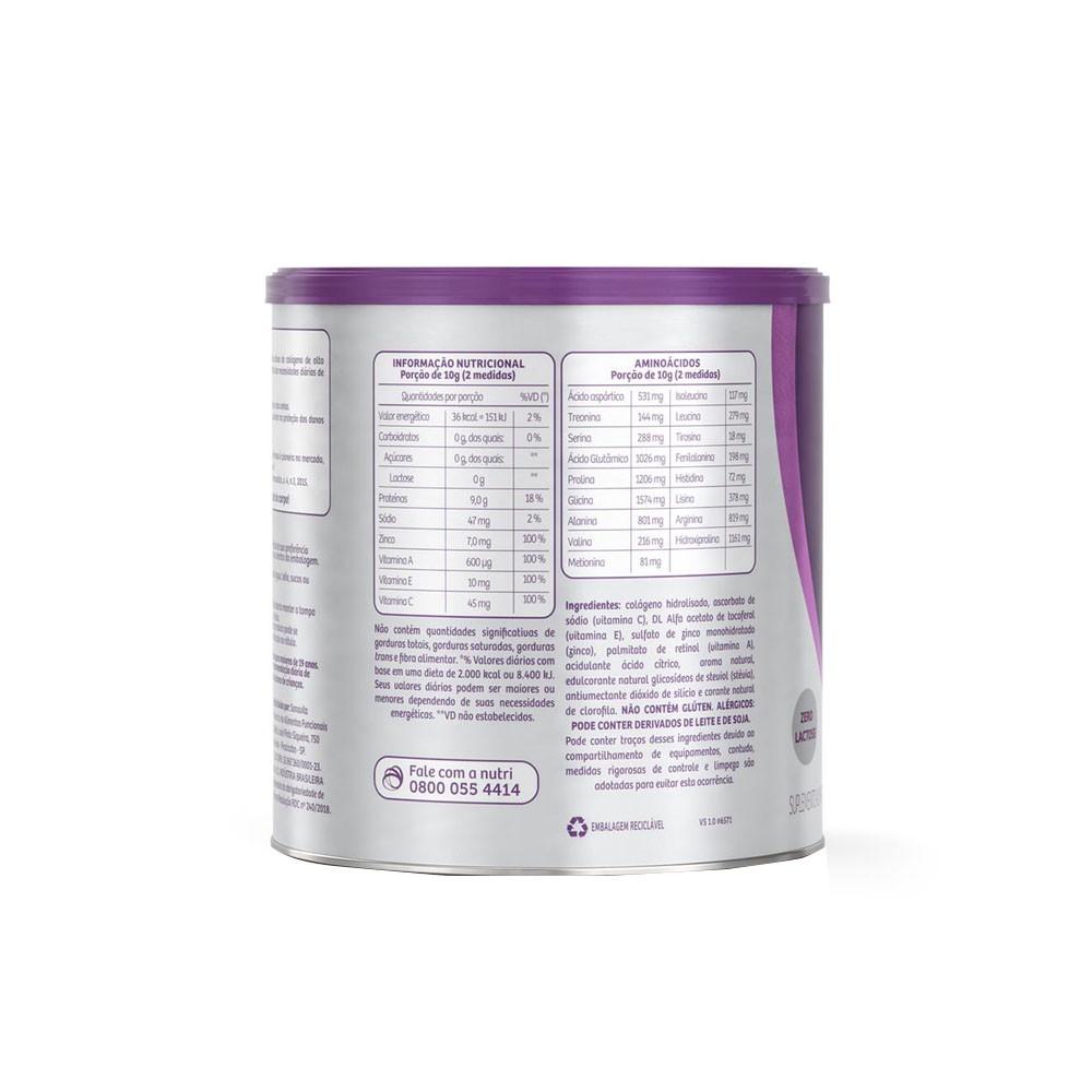 Colágeno Skin Limão com Clorofila 300g - Sanavita  - KFit Nutrition