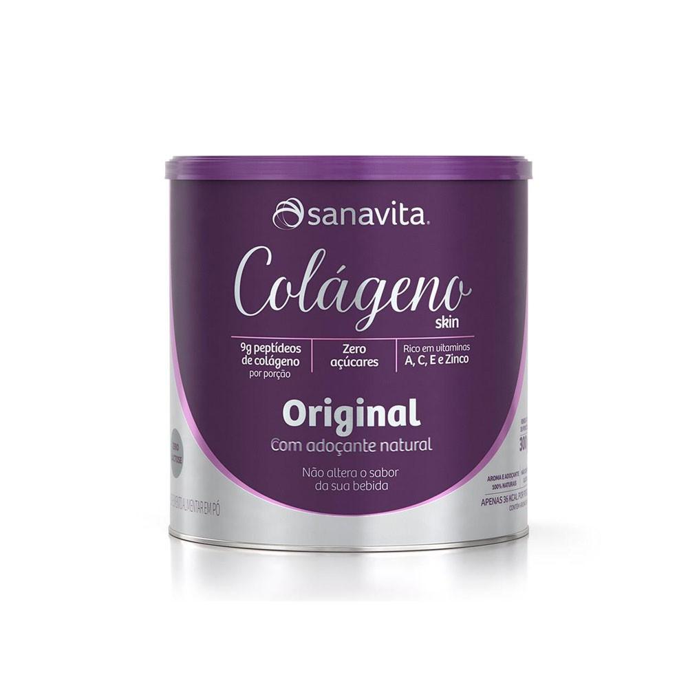 Colágeno Skin Original 300g - Sanavita  - KFit Nutrition