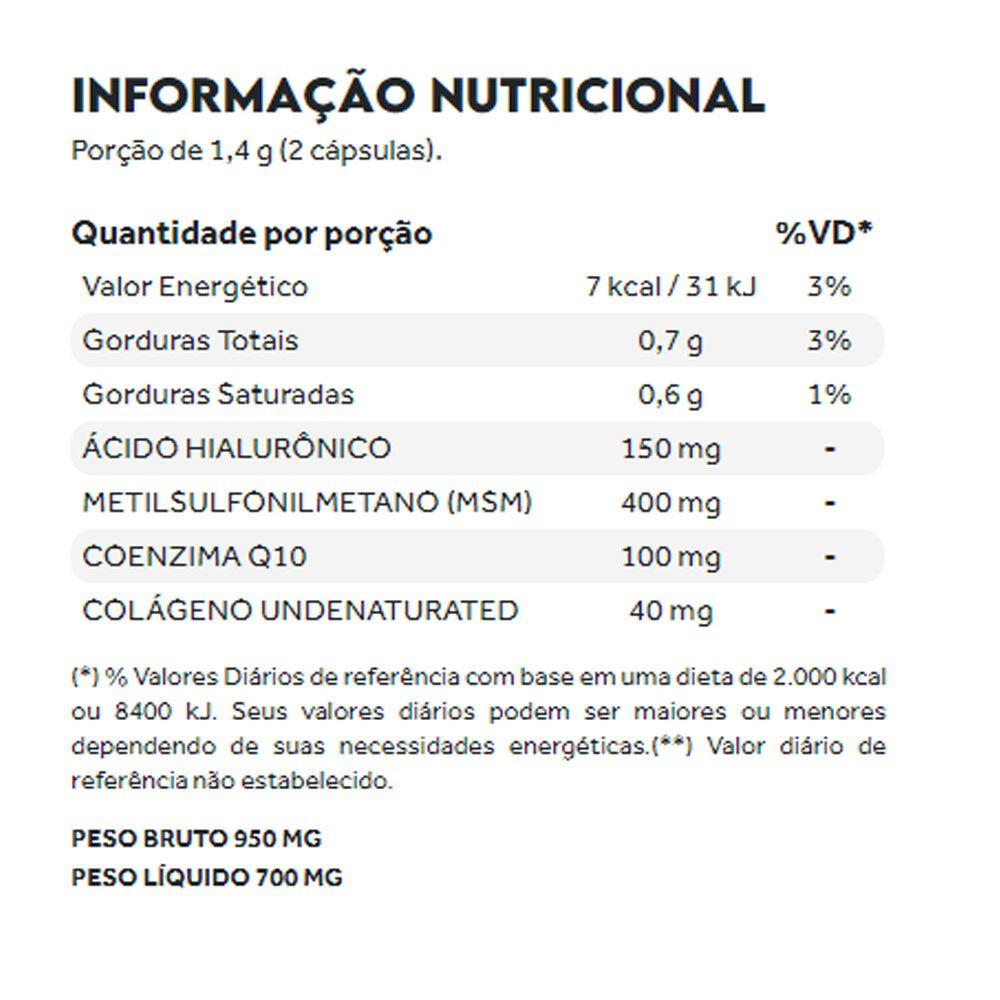 Collagen Flex Beauty Tipo 2 60 Caps - Puravida  - KFit Nutrition