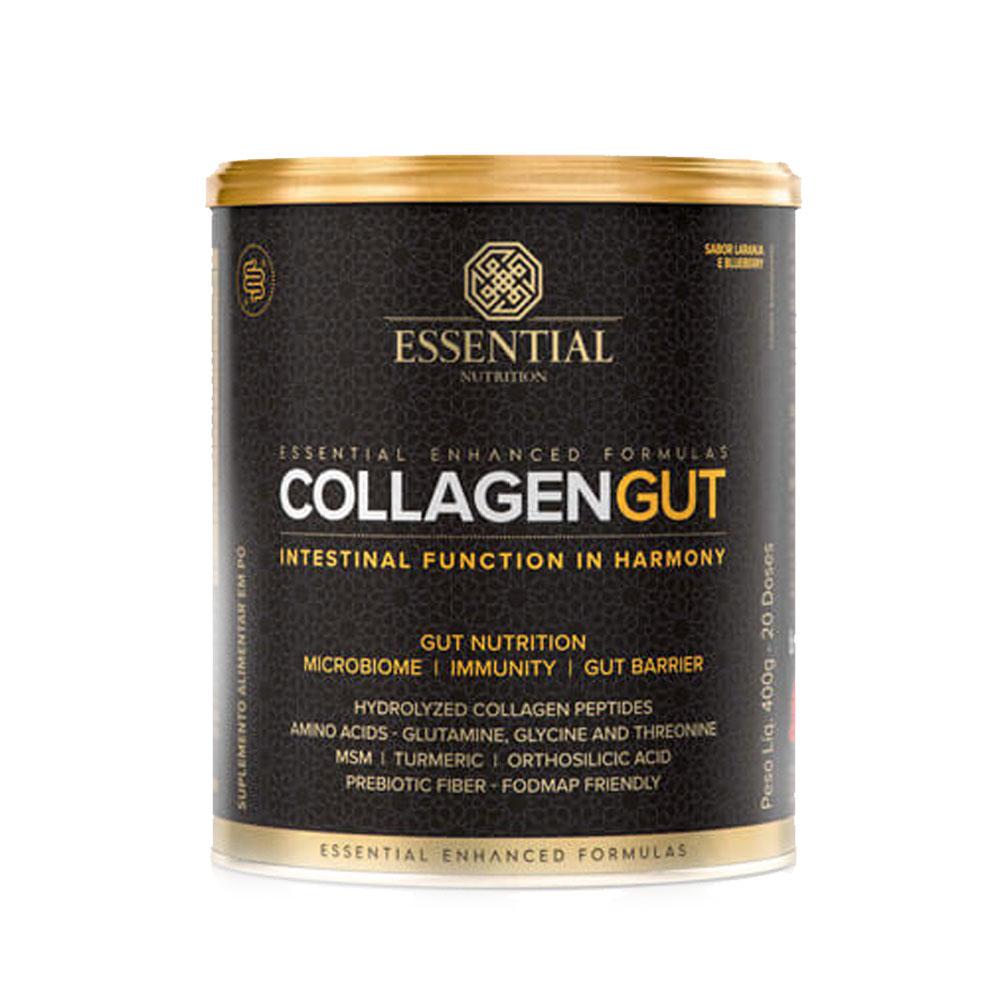 Collagen Gut Sabor Laranja e Blueberry 400g - Essential  - KFit Nutrition