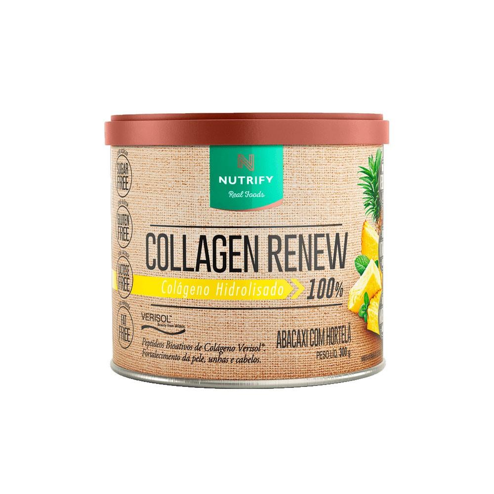 Collagen Renew 300g Abacaxi com Hortelã- Nutrify  - KFit Nutrition