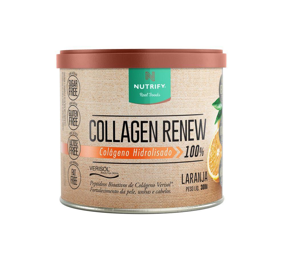 Collagen Renew 300g  Laranja - Nutrify  - KFit Nutrition