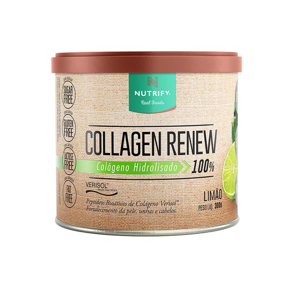 Collagen Renew 300g Limão - Nutrify  - KFit Nutrition