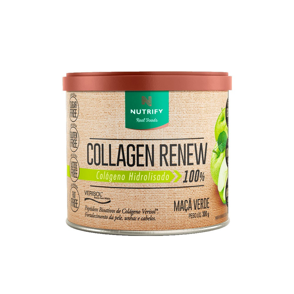 Collagen Renew 300g Maçã Verde - Nutrify  - KFit Nutrition
