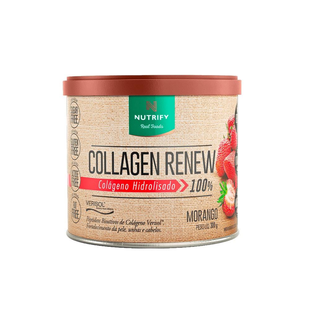 Collagen Renew 300g Morango- Nutrify  - KFit Nutrition