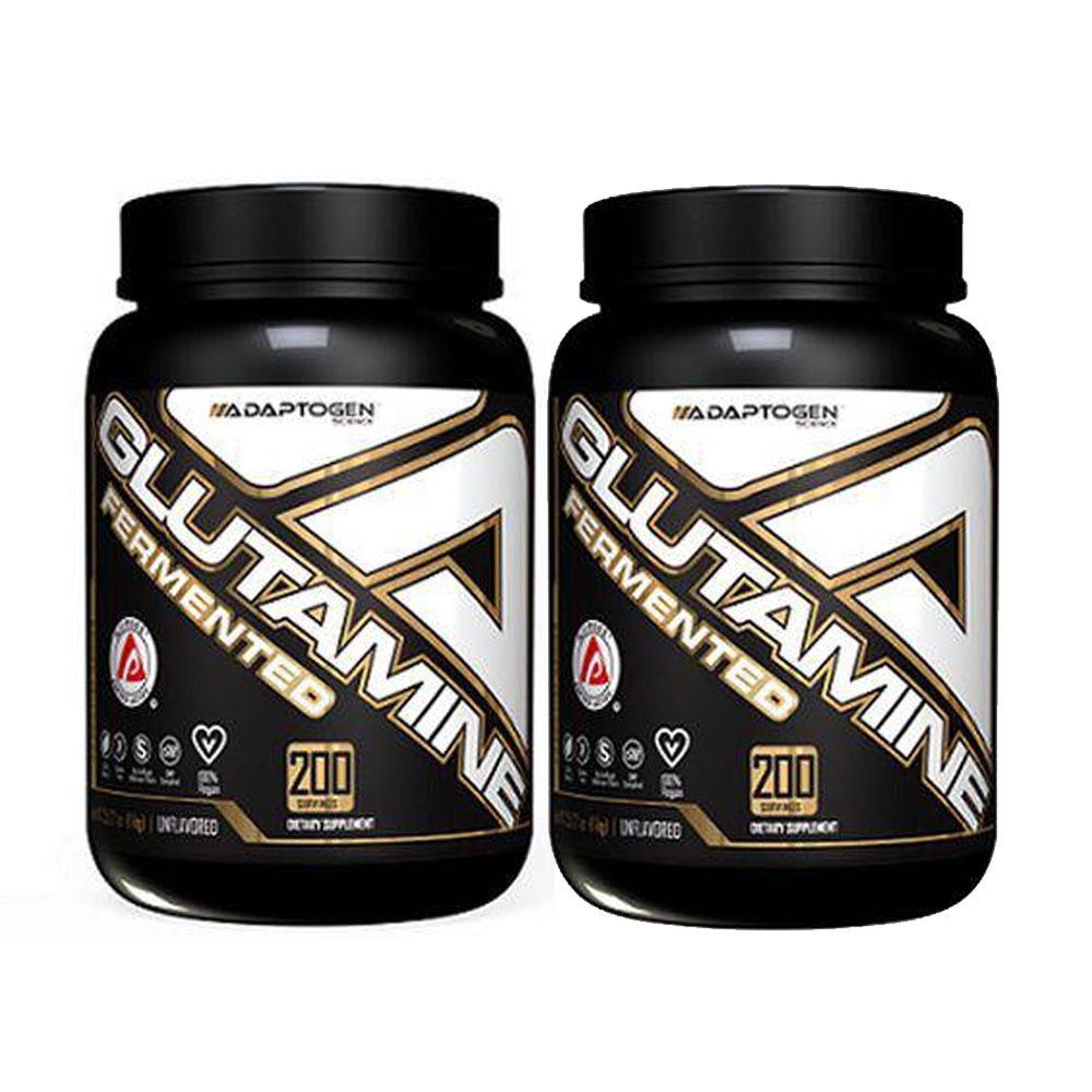 Glutamine Fermentada 1000g 2 Un Adaptogen + Bottle  - KFit Nutrition