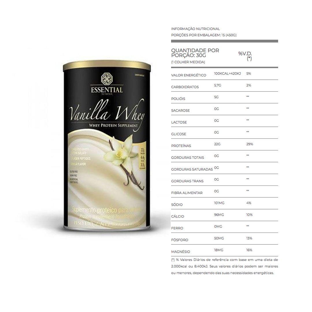 Vanilla Whey 900g 3 Un Essential Nutrition  - KFit Nutrition
