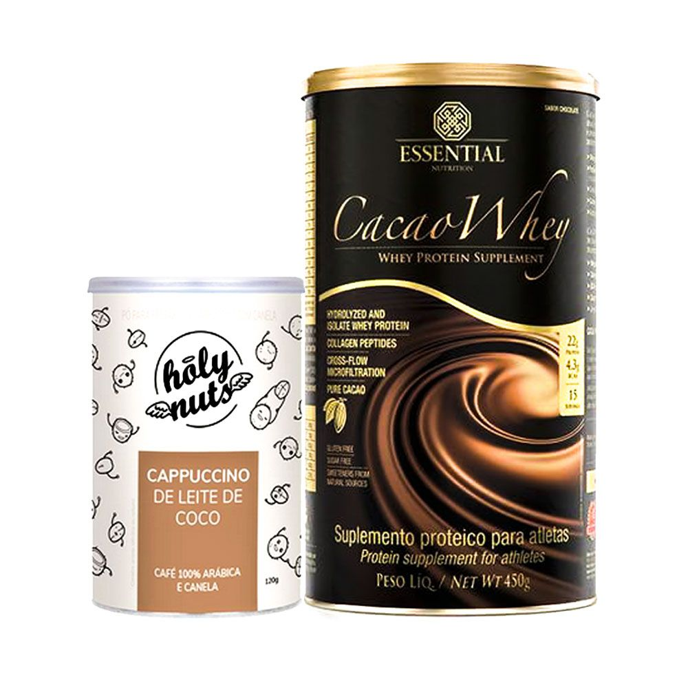 Cacao Whey 450g + Cappucino 120g  - KFit Nutrition
