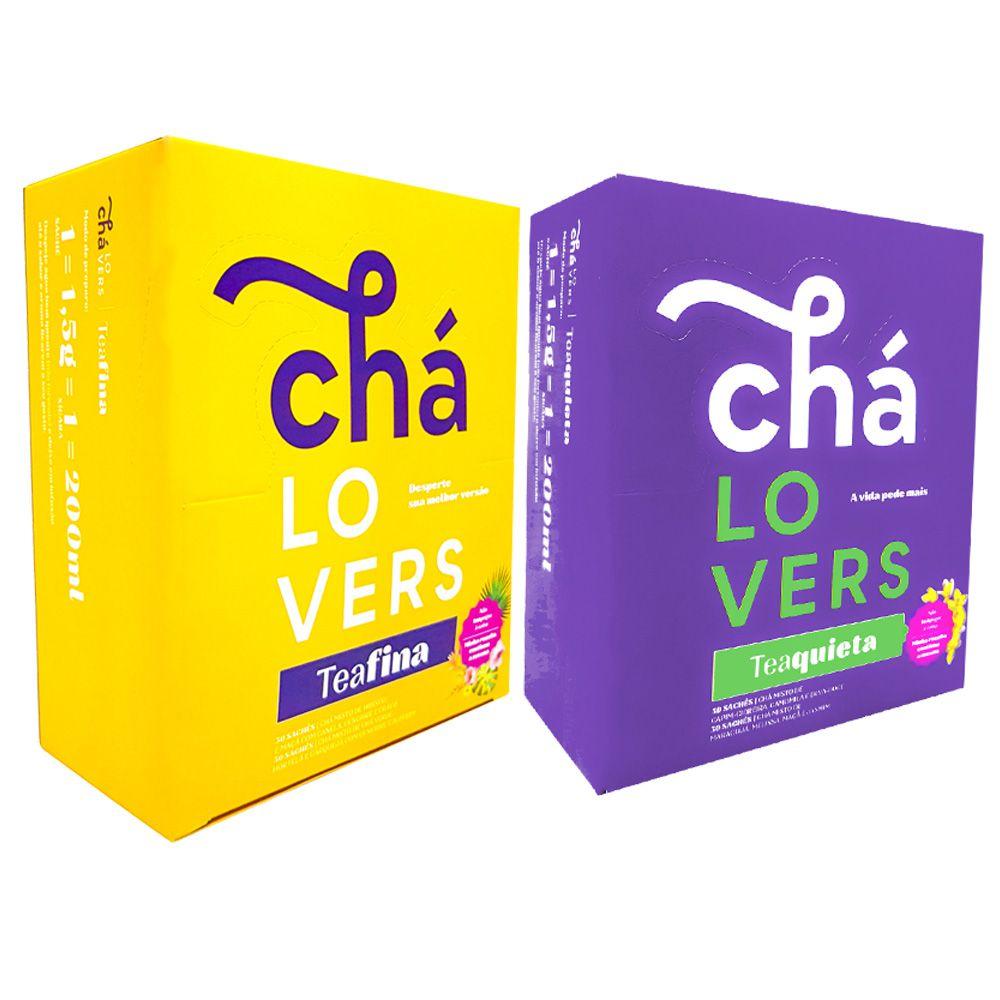 TeaQuieta  + TeaFina Chá Lovers  - KFit Nutrition