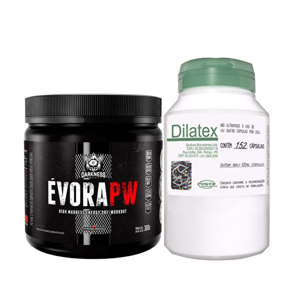 Évora 300g Frutas Amarelas + Dilatex 152 Cápsulas  - KFit Nutrition