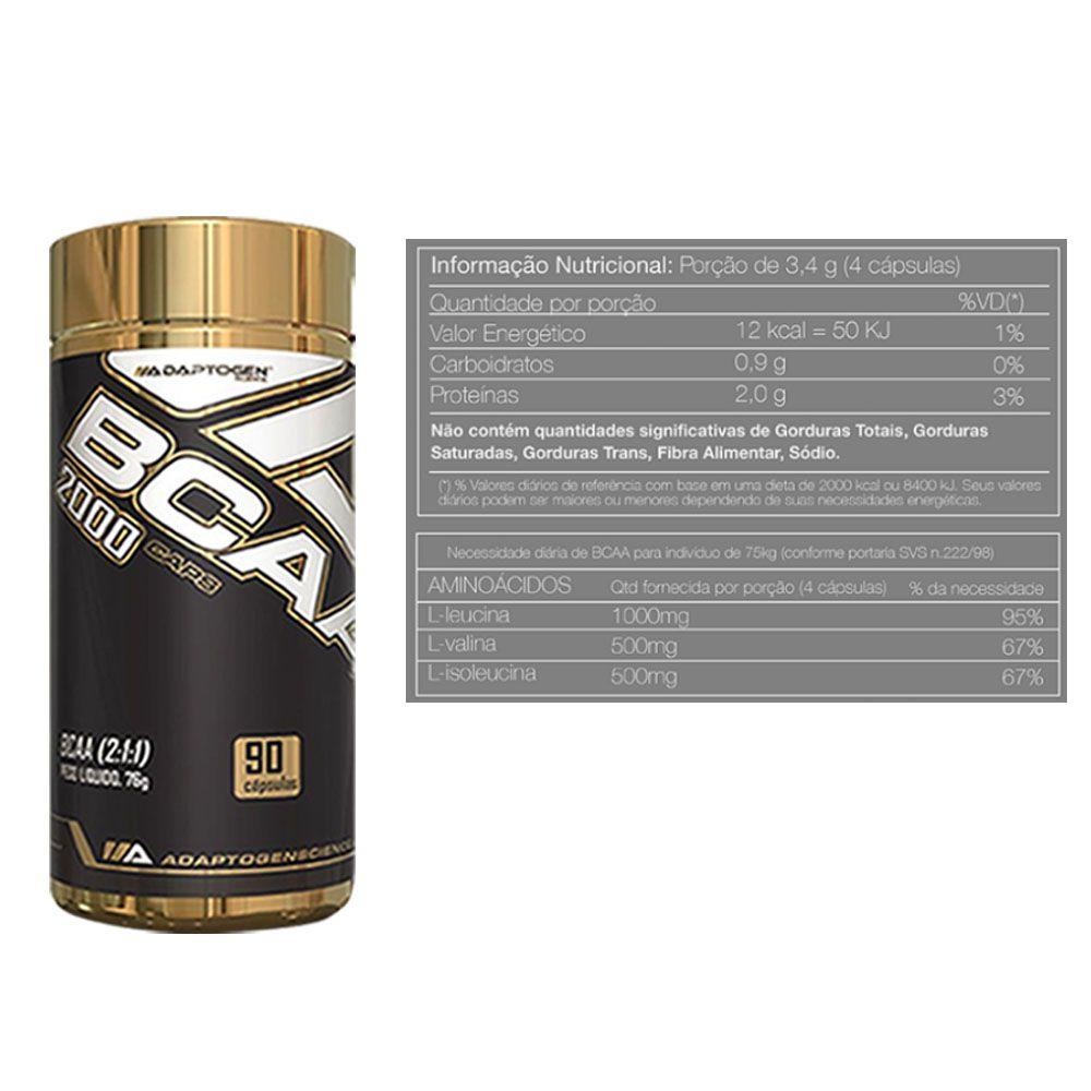 Tasty Whey Choc Peanut 5 LBS + Bcaa 90 Caps + Creatina  - KFit Nutrition