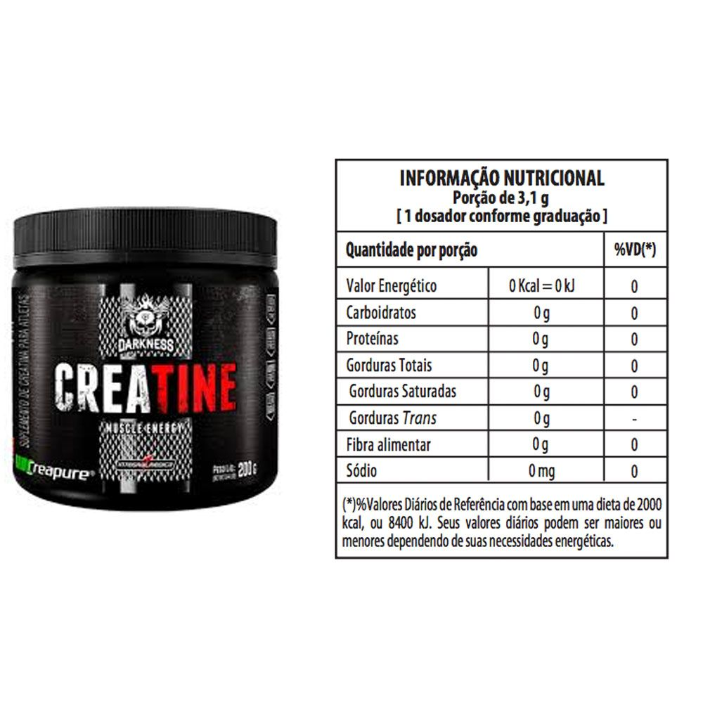 Whey 900g Morango + Creatine 200g + Bottle 500ml  - KFit Nutrition