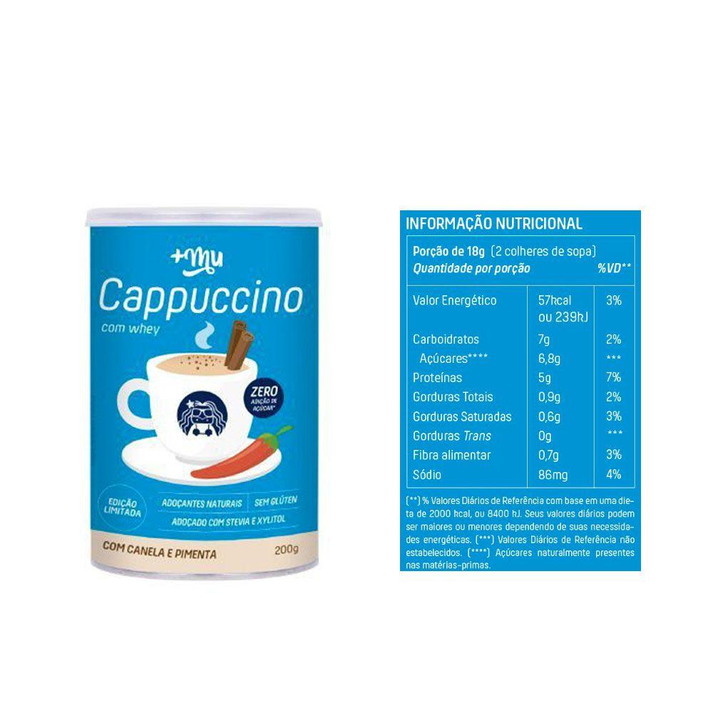 Whey Baunilha Muke 450g + Bolsa Térmica + Cappucino  - KFit Nutrition