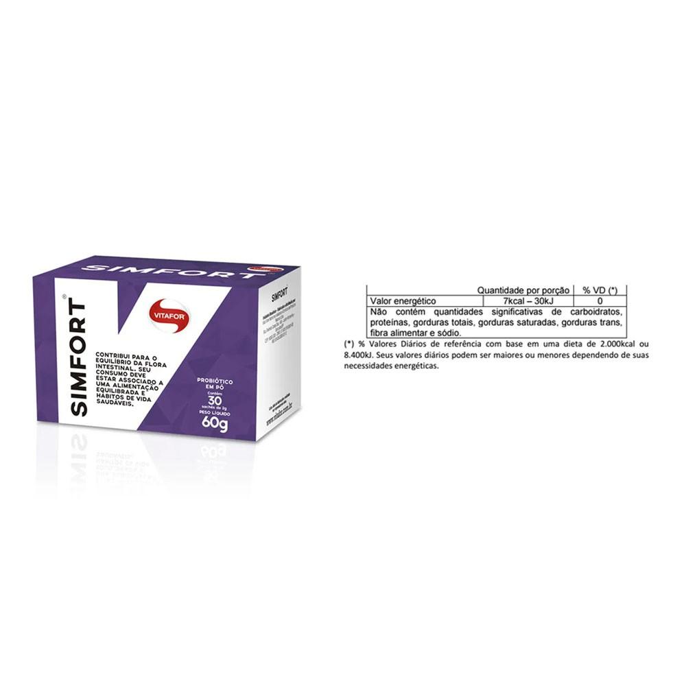 Compre Simfort 30 Sachês e Ganhe Propolis 70 Apis flora  - KFit Nutrition