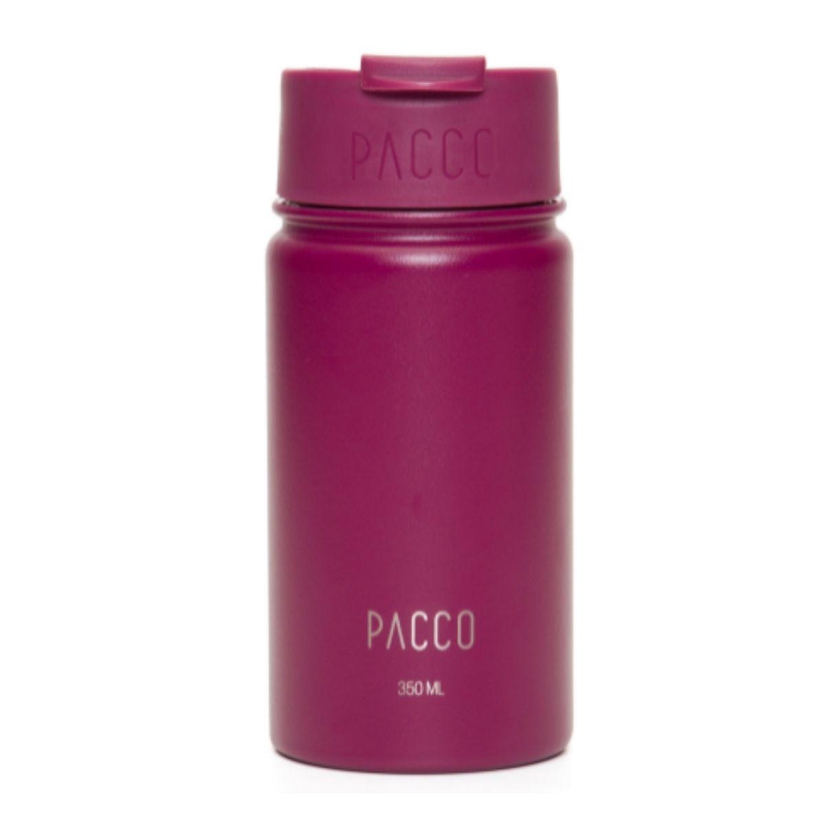 Copo Termico Vinho Tumbler C/ Infusor 350ml - Pacco  - KFit Nutrition