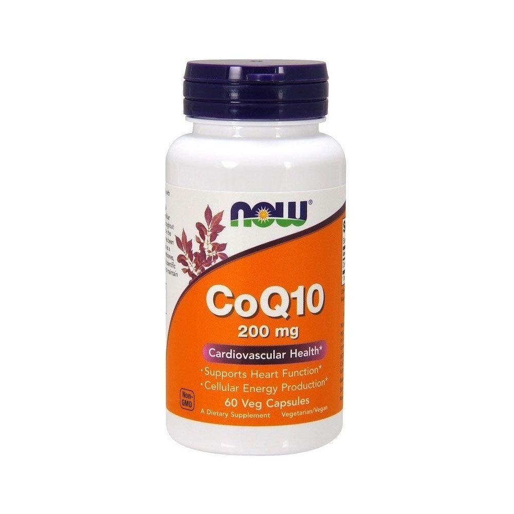 CoQ10 200mg 60 Caps Now  - KFit Nutrition