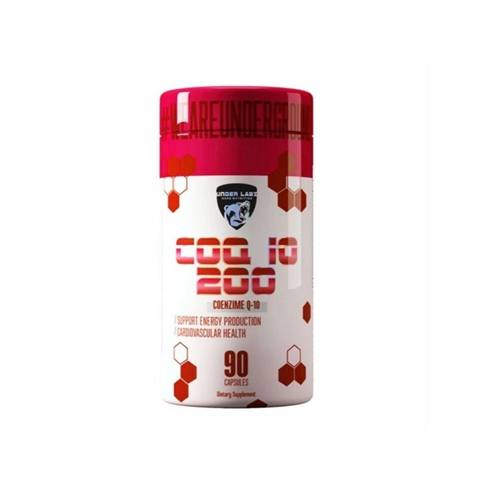 Coenzima Q-10 200mg - Coq-10 90 Caps Under Labz  - KFit Nutrition