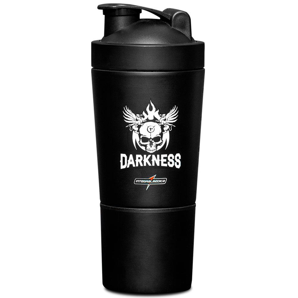 Coqueteleira Aluminio 600ml 2DS Darkness  - KFit Nutrition