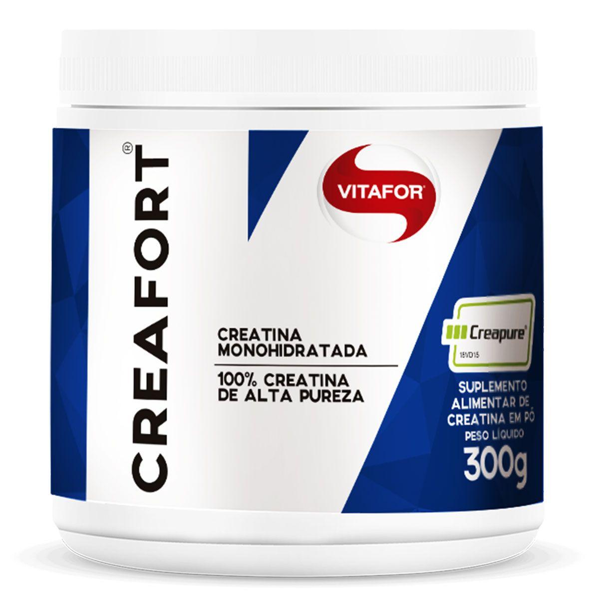 Creatina Creafort 300G Creapure Vitafor  - KFit Nutrition