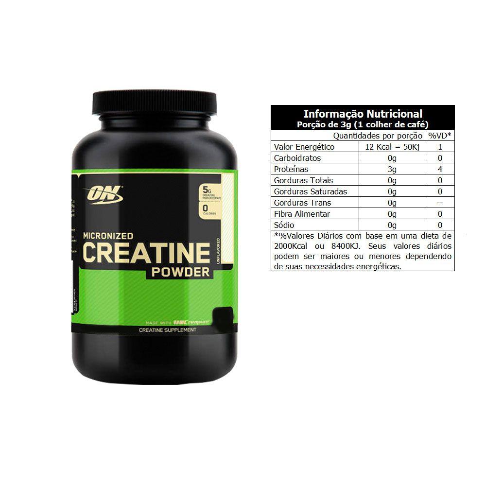 Creatina 150g Creapure 2 Un Optimun Nutrition  - KFit Nutrition