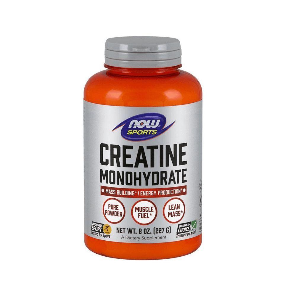 Creatina Monoidratada Sports 227g NOW  - KFit Nutrition