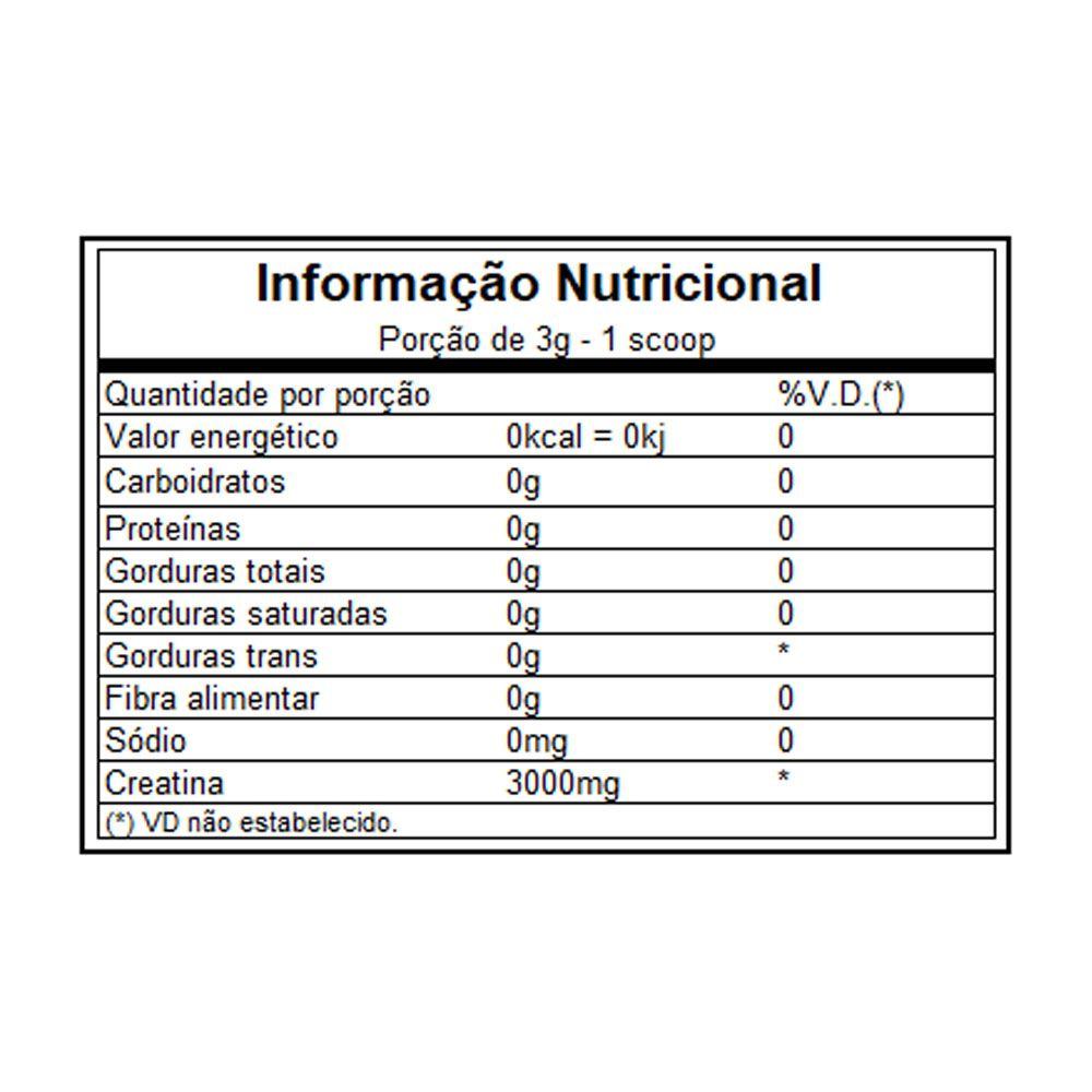 Creatina 1kg Darkness  - KFit Nutrition