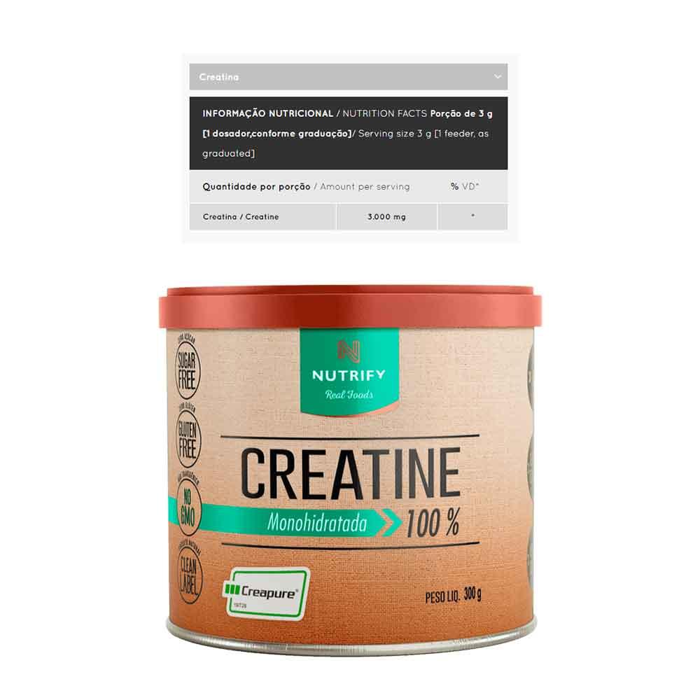 Creatine Creapure 300g - Nutrify  - KFit Nutrition