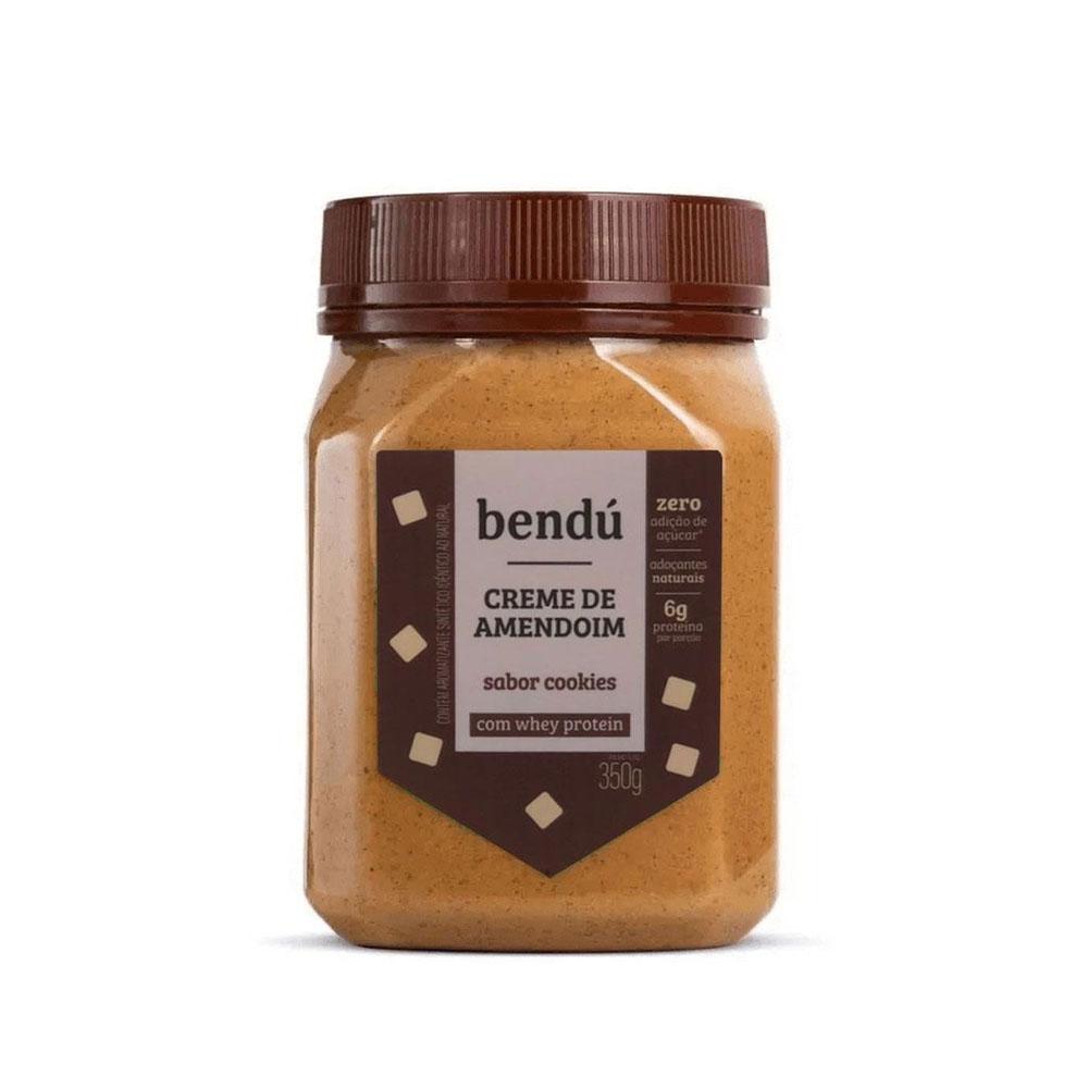 Creme de Amendoim Cookies 350g - Bendú  - KFit Nutrition