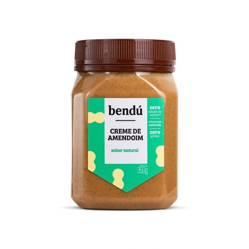 Creme de Amendoim Natural 350g - Bendú  - KFit Nutrition