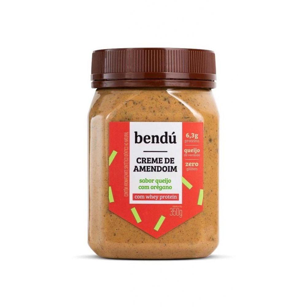 Creme de Amendoim Queijo com Orégano 350g - Bendú  - KFit Nutrition