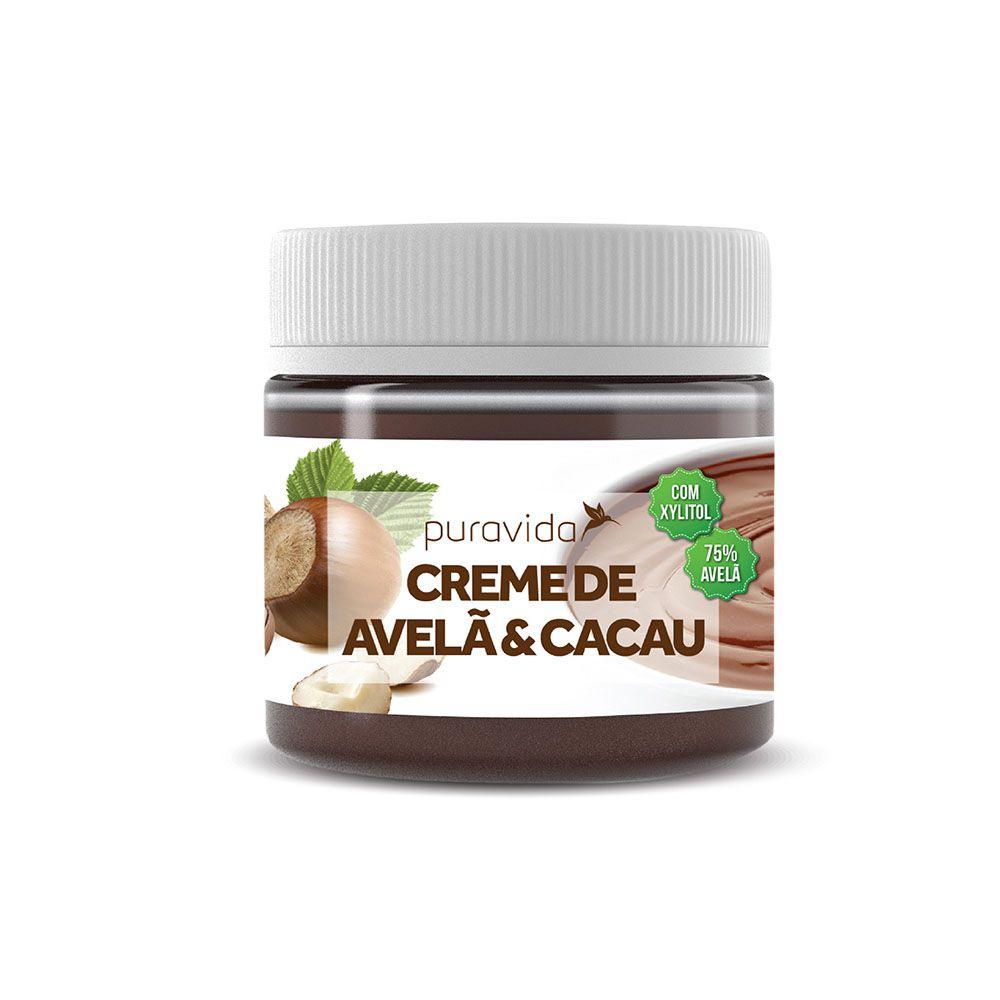 Creme de Avelã e Cacau 300g - Puravida  - KFit Nutrition