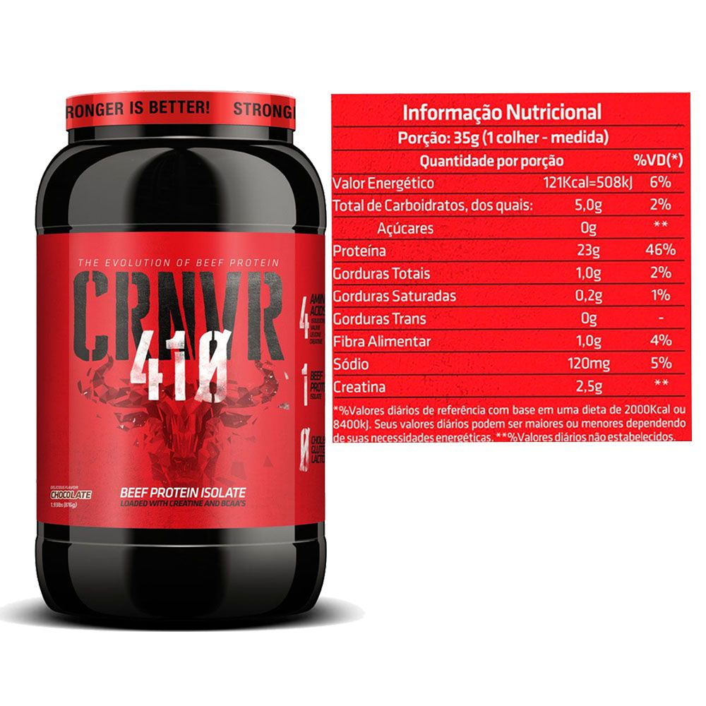 CRNVR 410 Chocolate + Amino Decanoid 300g 10:1:1 Citrus  - KFit Nutrition
