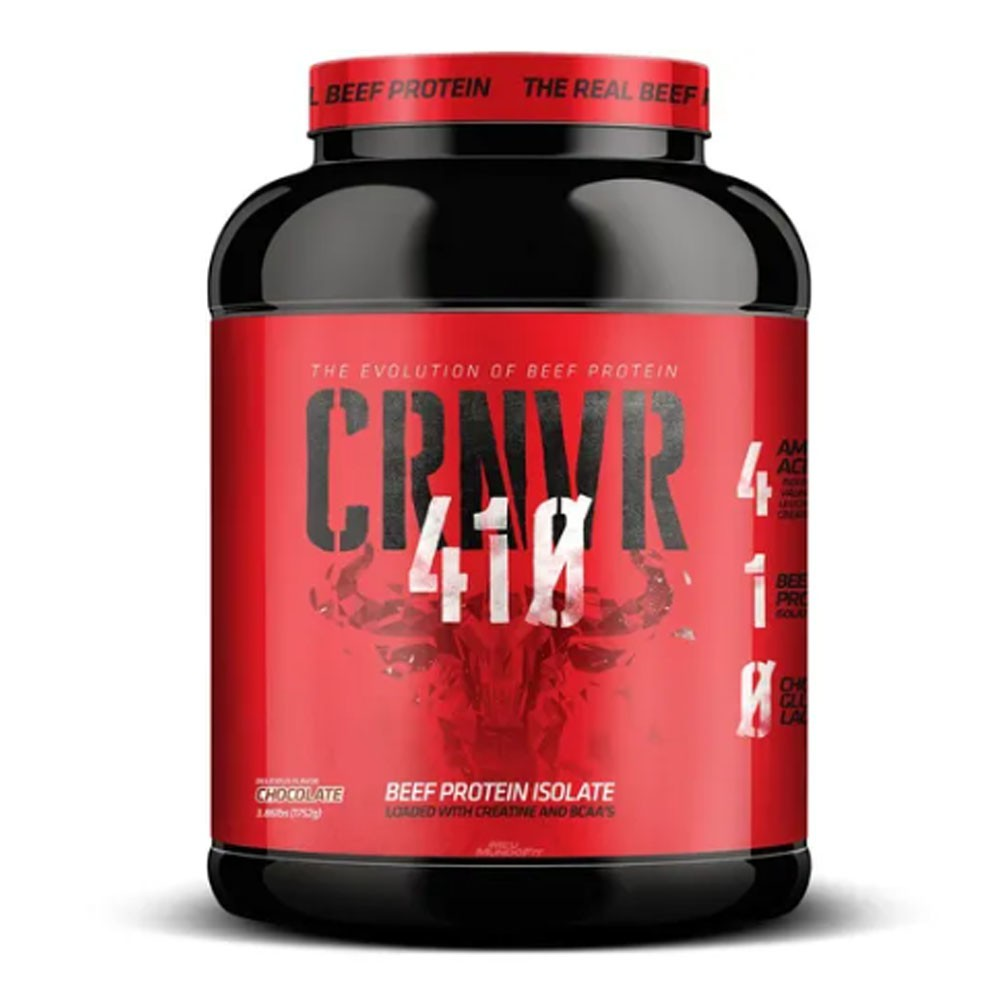 CRNVR Beef Chocolate- Proteina Isolada Hidrolisada da Carne 3.86LBS  - KFit Nutrition