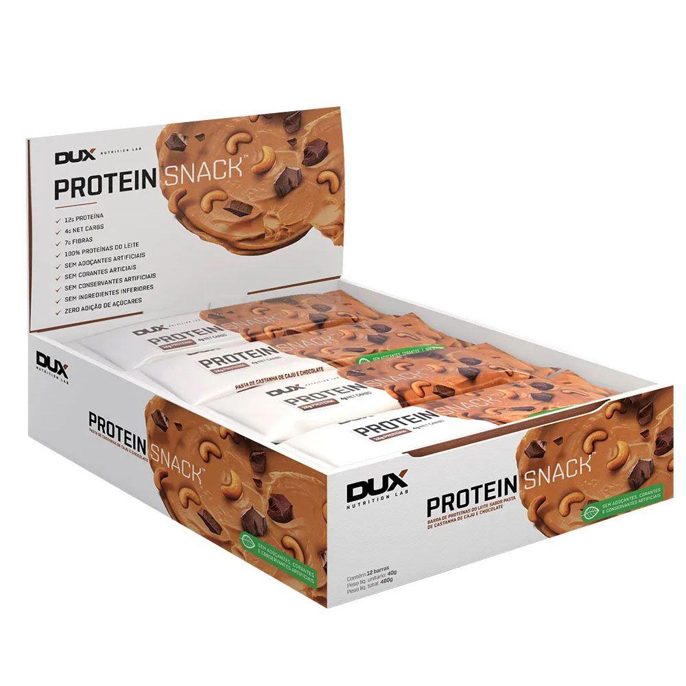 CX 12 Un Proteinsnack Castanha de Caju 40g  - Dux Nutrition  - KFit Nutrition