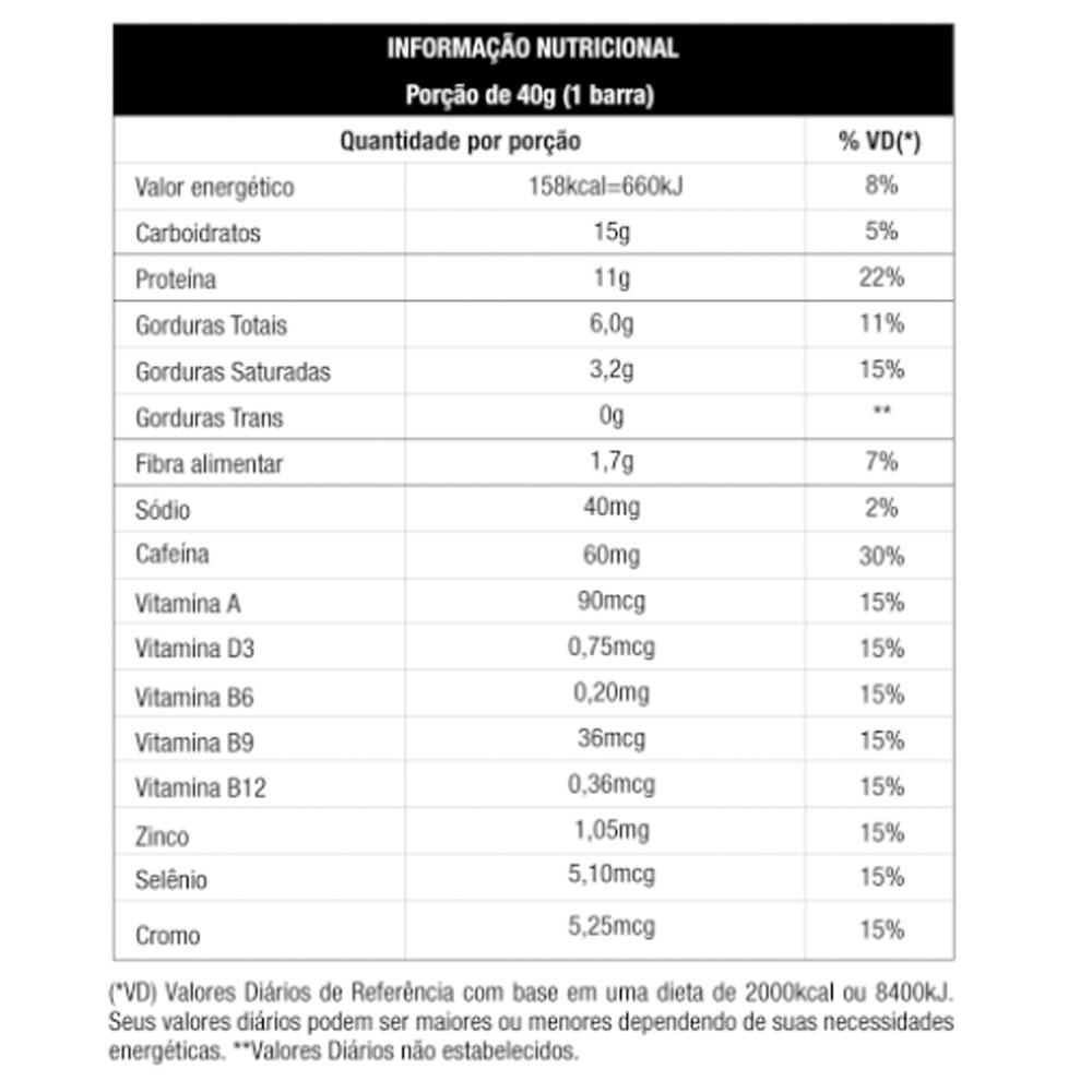 CX 12un Whey Grego Bar 480g Coffee Cream Caramel - Nutrata  - KFit Nutrition