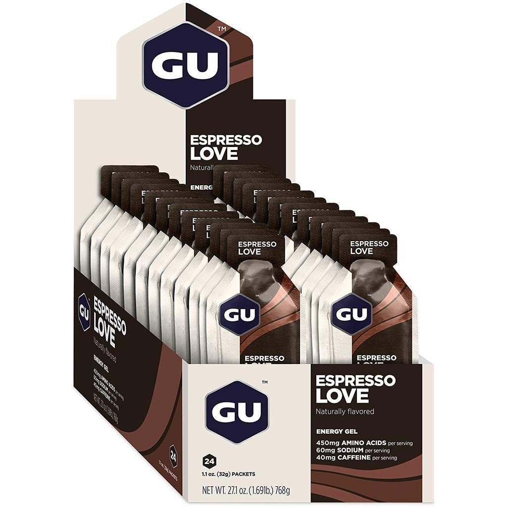 Cx 24 Un Energy Gel 32G Espresso Love GU  - KFit Nutrition