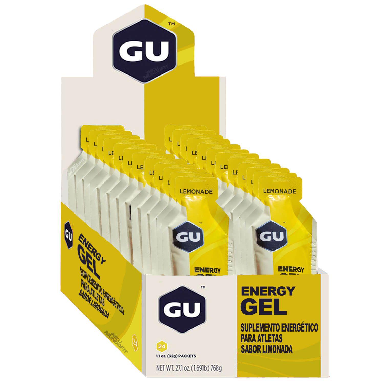 Cx 24 Un Energy Gel 32G Limonada GU  - KFit Nutrition
