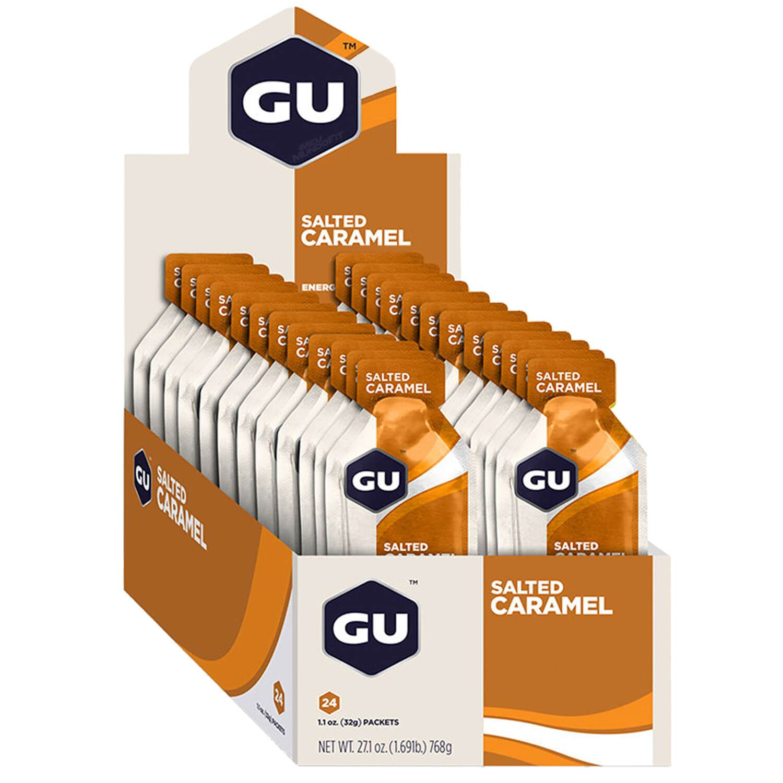 Cx 24 Un Energy Gel 32GCaramelo GU  - KFit Nutrition