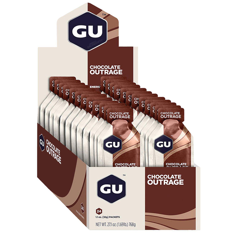 Cx 24 Un Energy Gel 32GChocolate GU  - KFit Nutrition