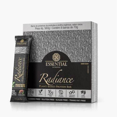 Radiance Protein Bar Cacao + Nibs + Chocolate Cx 8 Un  - KFit Nutrition