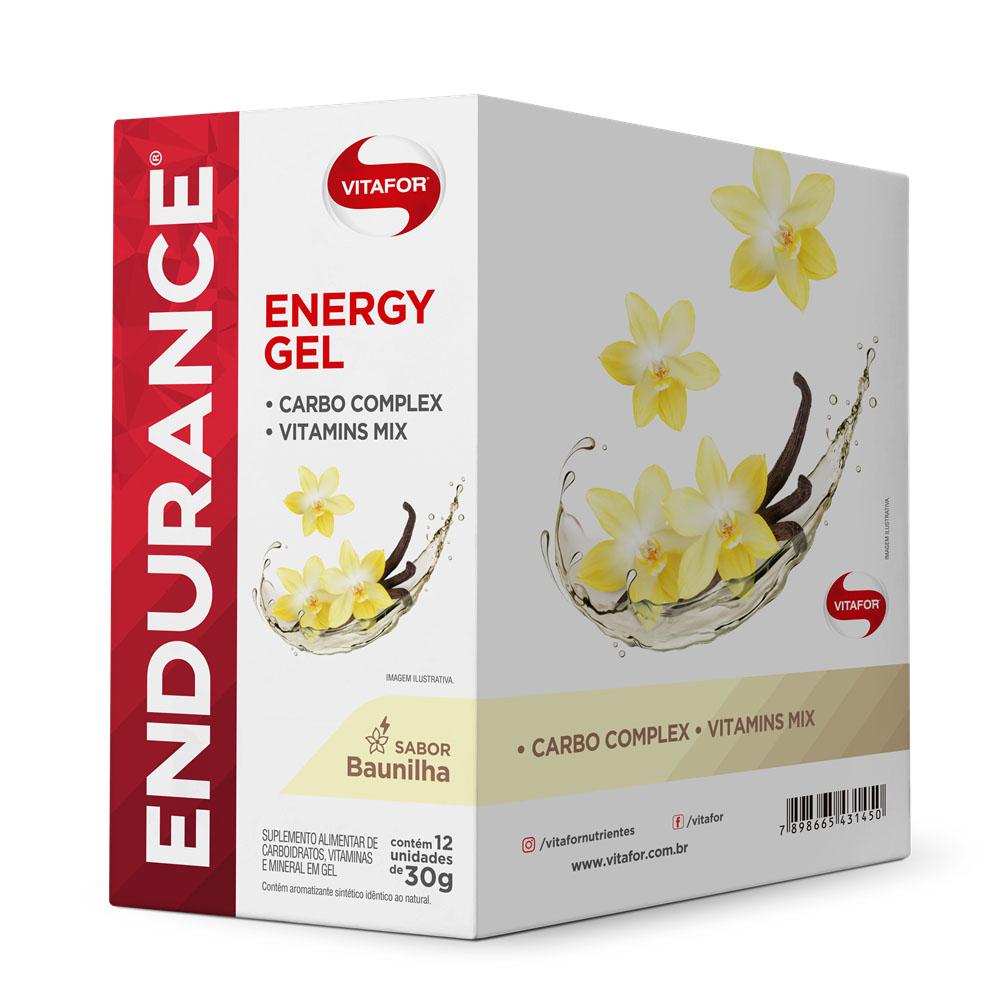 CX Endurance Energy Gel 30g Baunilha - Vitafor  - KFit Nutrition