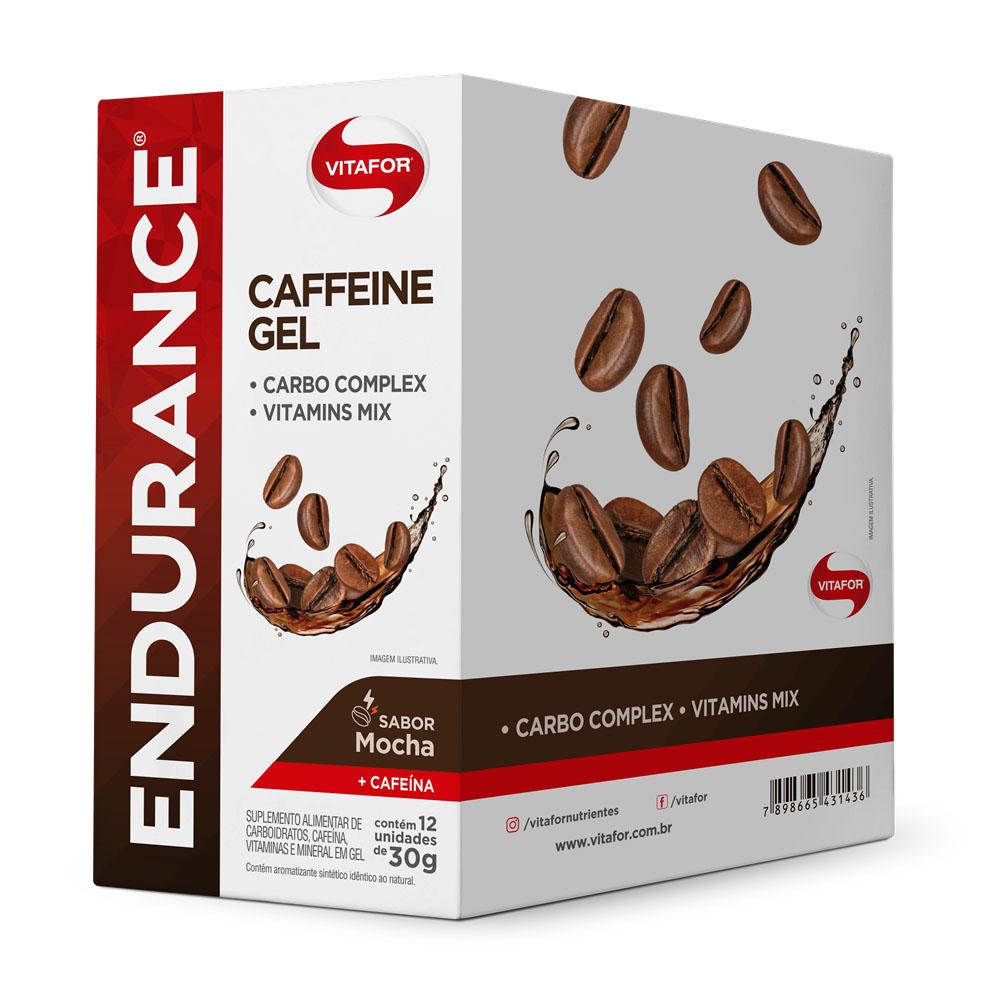 CX Endurance Energy Gel 30g Mocha Cafeína - Vitafor  - KFit Nutrition