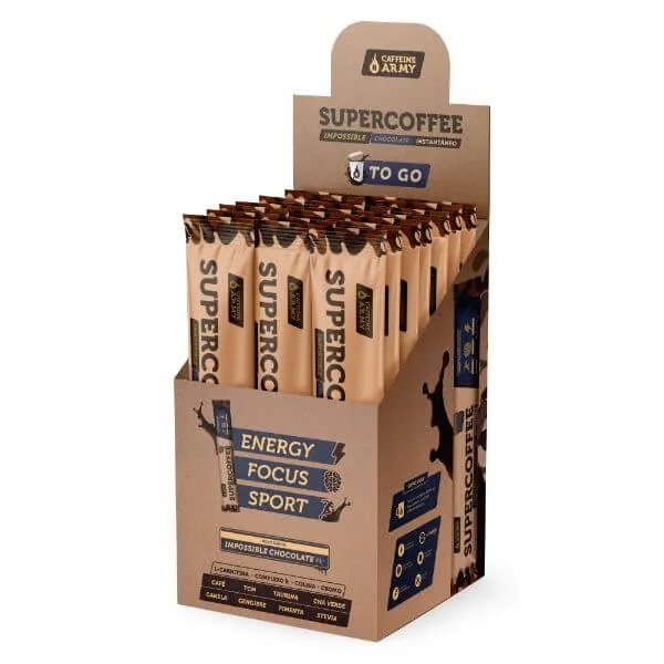 Cx Supercoffee To Go Chocolate 150g - Display  - KFit Nutrition