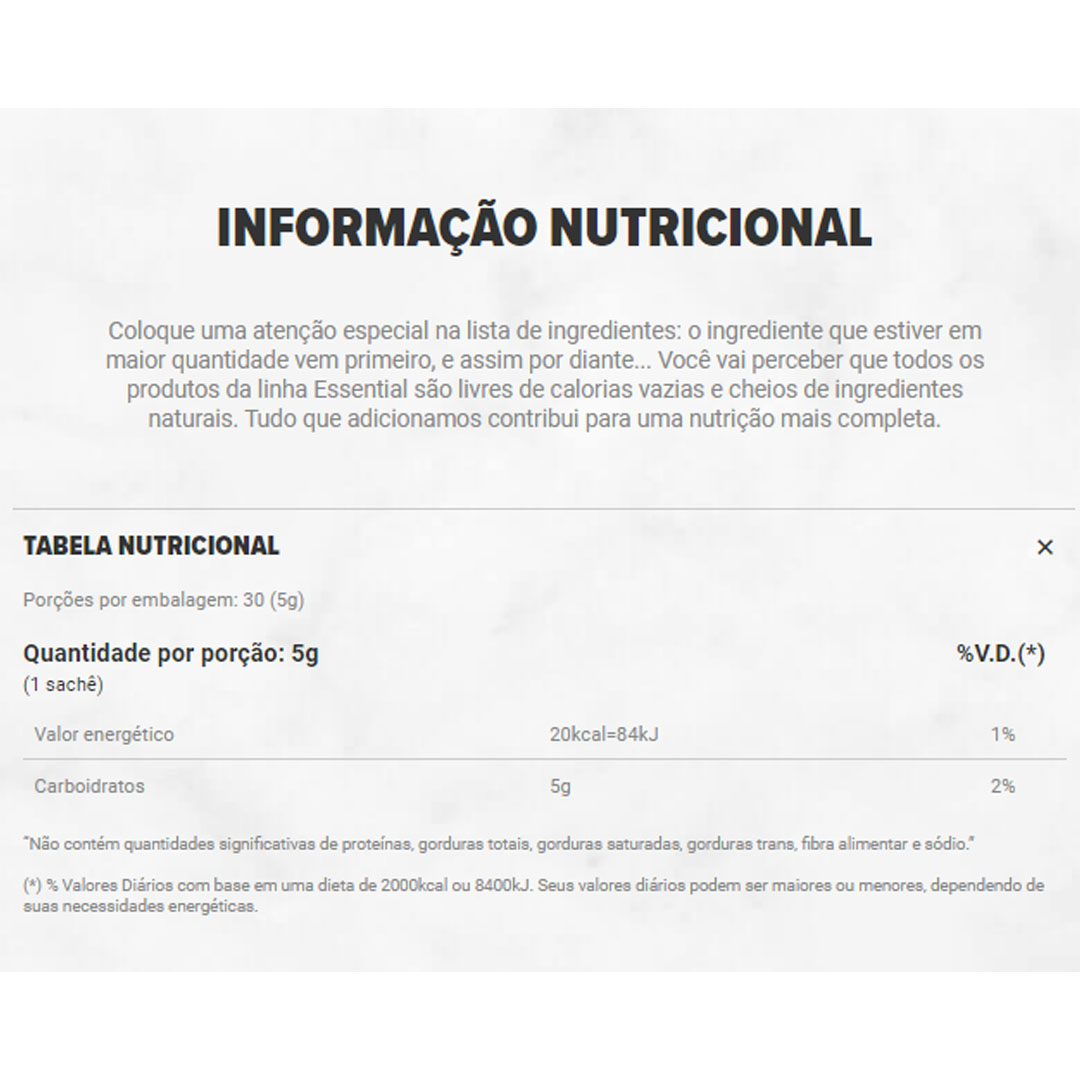 D-Ribose Display 150g 30doses - Essential  - KFit Nutrition